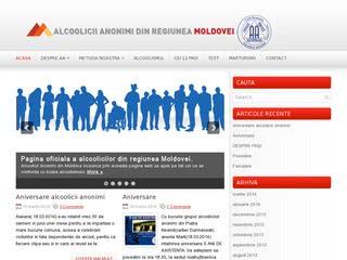alcoolicilor anonimi din Regiunea Moldovei
